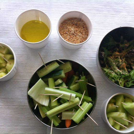 Groenten recept voor de kleine pauze