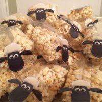 Popcorn schaapjes