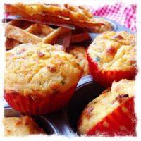 Hartige wafels en muffins