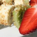 Kokos fruitspiesjes