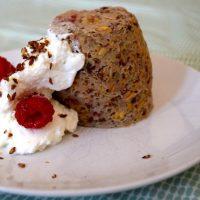 fruitcake uit de magnetron