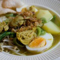 Soto Ajam Soep uit Indonesië