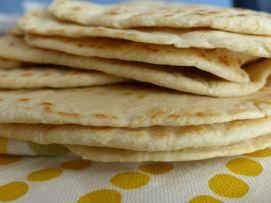 recept: zelfgemaakte tortilla's